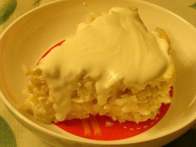 Сладкие блюда из риса
