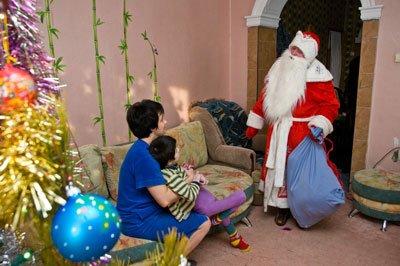 Новый год с детьми инвалидами