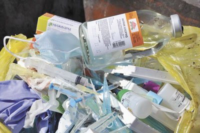 отходы медицинские картинки