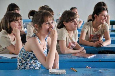 Русские студенты после сессии