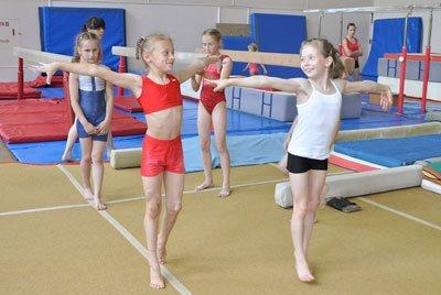 Фото спортивной гимнастики дети